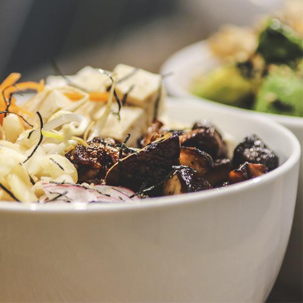 Vegan Sashimi Bowl